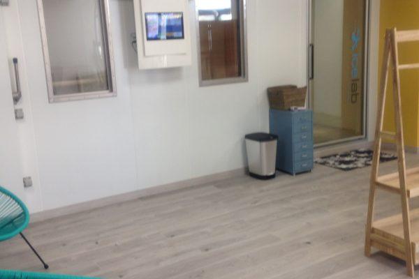 Photo des locaux du Cryomédic Center, centre de cryothérapie corps entier